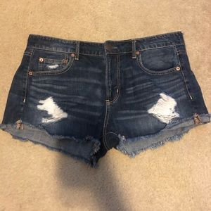 NEVER WORN high waisted jean shorts